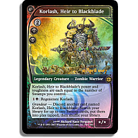 Korlash, Heir to Blackblade (Prerelease)