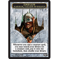 Emblem: Garruk, Caller of Beasts
