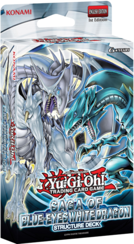 Saga of Blue-Eyes White Dragon Structure Deck (Reprint)_boxshot