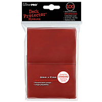 100ct Red Standard Deck Protectors