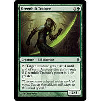 Greenhilt Trainee