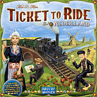 Ticket to Ride Map Collection: Volume 4 - Nederland / Netherlands / Nederländerna