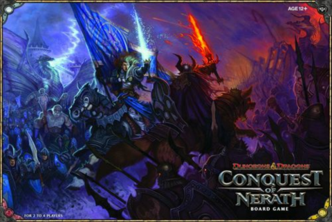 Conquest of Nerath D&D Boardgame_boxshot