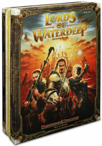 Lords of Waterdeep D&D Boardgame_boxshot