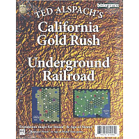 Steam Maps: California Gold Rush, Underground Railroad