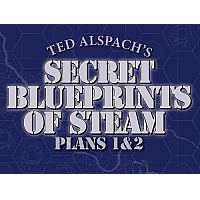 Steam Maps: Secret Blueprints of Steam - Plans 1&2