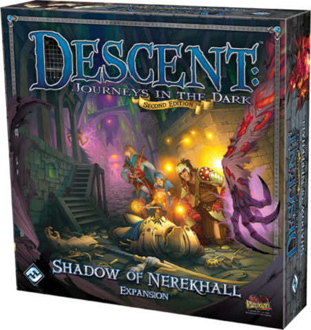 Descent: Journeys in the Dark (Second Edition): Shadow of Nerekhall _boxshot