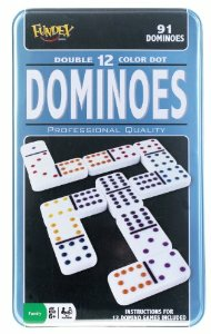 Dominoes - Double 12 Color Dot_boxshot