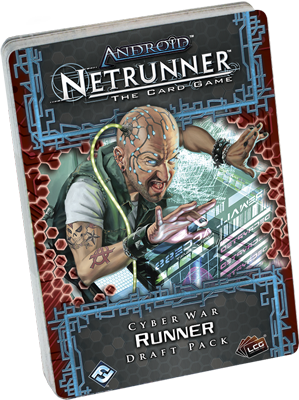 Android: Netrunner - Cyber War Draft: Runner Pack_boxshot