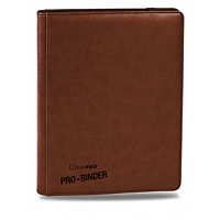 Premium Pro-Binder - 9-Pocket Portfolio - Brown