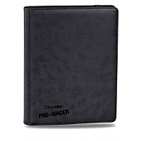 Premium Pro-Binder - 9-Pocket Portfolio - Black