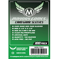 Mayday Games Card Sleeves - Card Game Sized