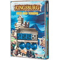 Kingsburg: Dice & Tokens set Blue