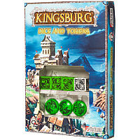 Kingsburg: Dice & Tokens set Green