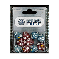 Galaxy Defenders: Set Of 10 Special Dice