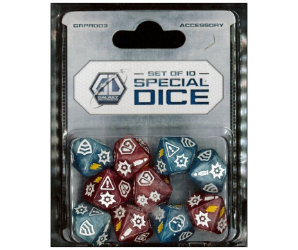 Galaxy Defenders: Set Of 10 Special Dice_boxshot