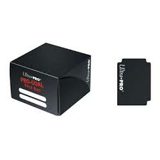 PRO Dual Standard Black Deck Box (180 cards)_boxshot