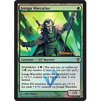 Joraga Warcaller ( Foil ) (Worldwake Launch)