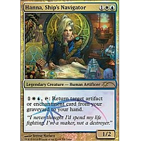 Hanna, Ship's Navigator (Judge)