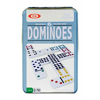 Dominoes - Double 6 Color Dot