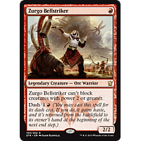 Zurgo Bellstriker ( Foil ) (Dragons of Tarkir Prerelease)