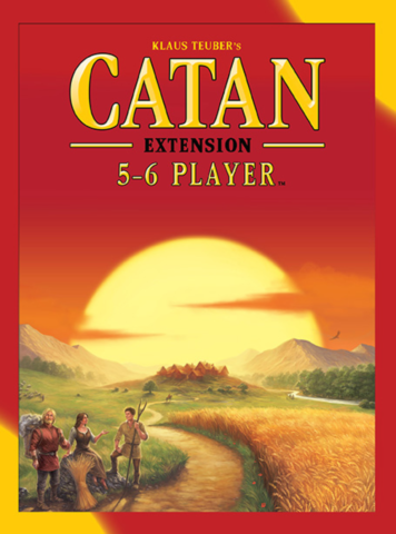 Catan:  5-6 Player Extension (5th Edition) (English Edition)_boxshot
