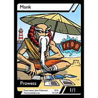 Yummy Tokens - Monk Token 1/1