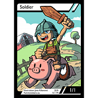 Yummy Tokens - Soldier Token 1/1