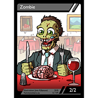 Yummy Tokens - Zombie Token 2/2