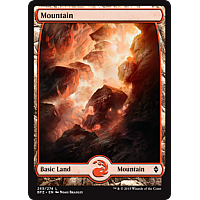 Mountain (Foil) (Full art)