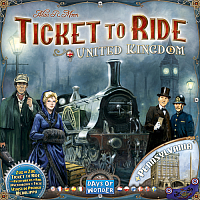 Ticket to Ride Map Collection: Volume 5 - United Kingdom & Pennsylvania