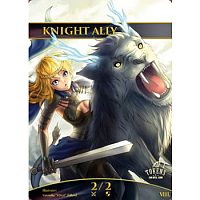 Tokens for MTG - Knight Ally