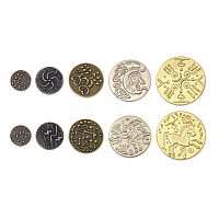 Metal Coins: Celtic theme