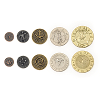 Metal Coins: Mythological Monsters theme