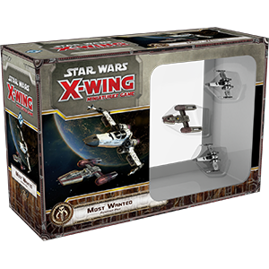 Star Wars: X-Wing Miniatures Game - Most Wanted Expansion Pack_boxshot