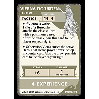 Dungeons & Dragons: The Legend of Drizzt Board Game – Vierna Do'Urden Promo