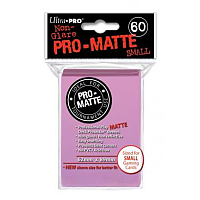 60ct Pro-Matte Pink Small Deck Protectors