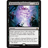 Remorseless Punishment (Prerelease)