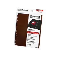 18-Pocket Pages Side-Loading Brown (10)