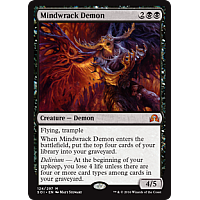 Mindwrack Demon ( Foil ) ( Shadows over Innistrad )
