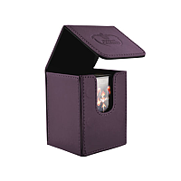 Ultimate Guard Flip Deck Case 100+ Standard Size Purple