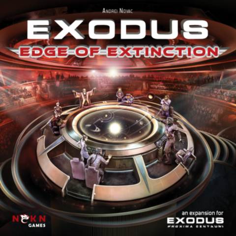 Exodus: Edge Of Extinction ( expansion to Exodus: Proxima Centauri Revised)_boxshot