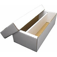 Cardboard Box 1600ct 2-row