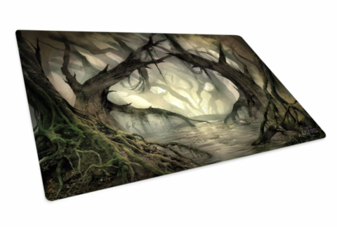 Ultimate Guard Play Mat Lands Edition Swamp Dragon S Lair