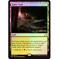 Game Trail ( Foil ) ( Shadows over Innistrad )