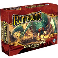 Runebound 3rd Edition: Caught In A Web