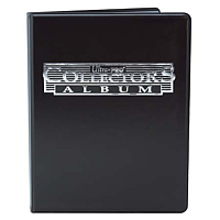 Collectors Album, 4-Pocket Black