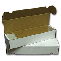 Cardboard Box: 800 Count Storage Box