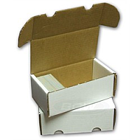 Cardboard Box: 400 Count Storage Box
