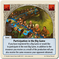 Rivals of Catan: Participation in the Big Game